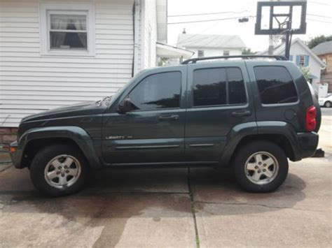 2003 jeep liberty limited purchase used 2003 jeep liberty limited sport utility 4