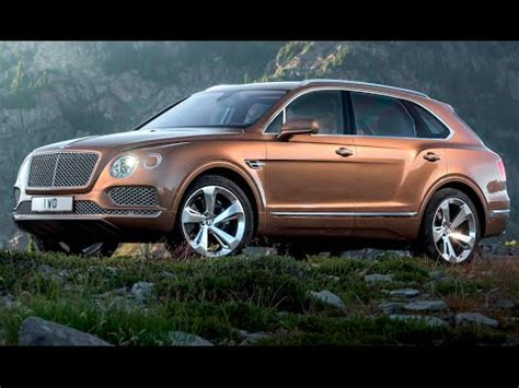 bentley suv bentayga commercial official world premiere bentley suv  carjam tv hd  youtube