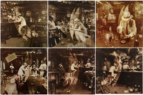 Led Zeppelin In Through The Out Door by Album With The Most Artwork Variations Steve Hoffman