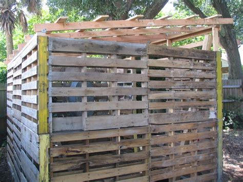 Sheds From Pallets by Wood Pallet Shed Project