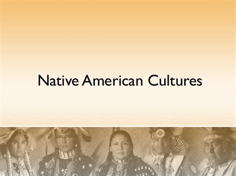 Native Americans Powerpoint American Indian Powerpoint Template