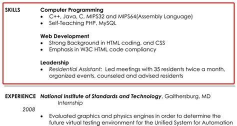 what to write in skills for resume resume ideas