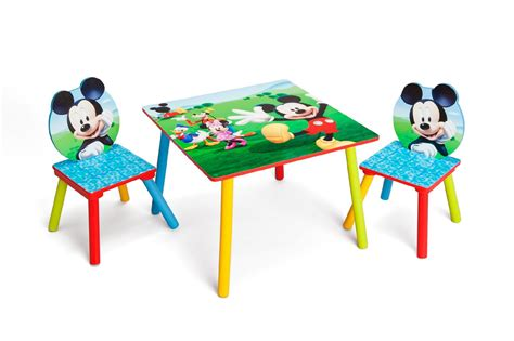 mickey mouse table set delta children mickey mouse child s table and chair set