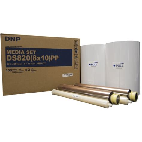 Paper Media Dnp Ds80 8x10 130 Lembar dnp ds820a media kit 8x10