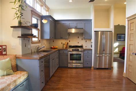 kitchen with painted cabinets kitchen cabinets color home design and decor reviews