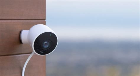 nest s outdoor security is weatherproof and