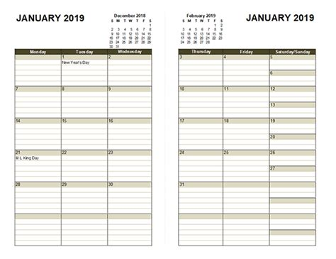 diary planner template  printable templates