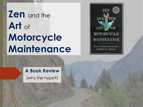 Book Review High Maintenance By by Zen And The Of Motorcycle Maintenance Book Review