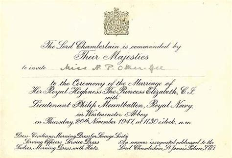 royal wedding invitation template the diana discussion board royal wedding announcements