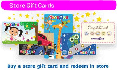 Check Balance On Toysrus Gift Card - gift cards toys quot r quot us