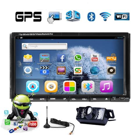 Tv Mobil Indash eincar digital tv android car dvd player in dash autoradio din 7 inch