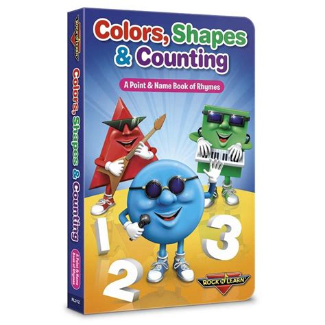 Counting Board Book colors shapes counting board book rl312