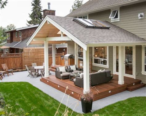 covered porch plans 25 best ideas about patio roof on patio outdoor pergola and backyard patio