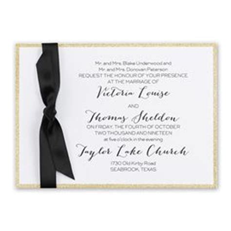 horizontal wedding invitation templates golden glow horizontal invitation invitations by