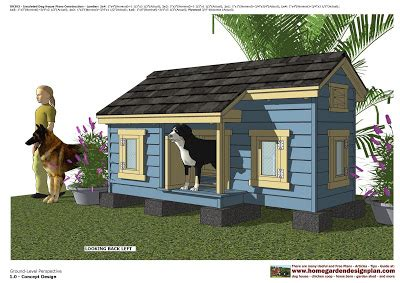 dog house with windows home garden plans dh303 insulated dog house plans dog house design how to build