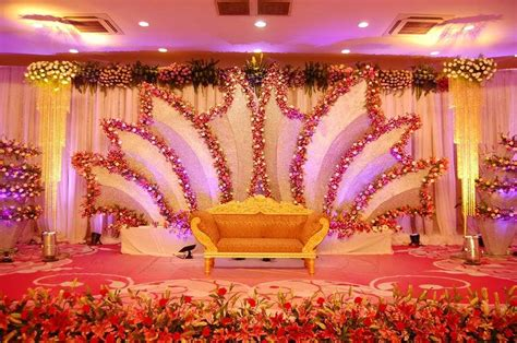 indian wedding stage decoration  magnificent