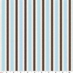 Blue And Brown Duvet Cover Blue And Brown Ribbon Stripe Fabric By The Yard Blue