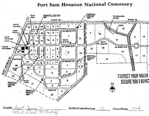 fort sam houston texas map ft sam houston map indiana map