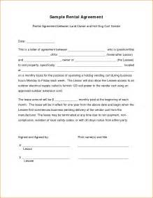 Tenant Agreement Letter by 7 Lease Agreement Letter Printable Receipt