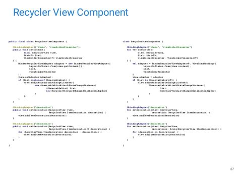 recyclerview layoutinflater mikle anokhin speed up application development with data