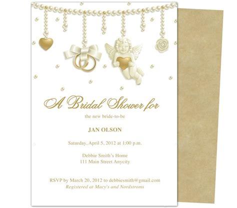 publisher templates wedding invitations 16 best images about wedding bridal shower invitation