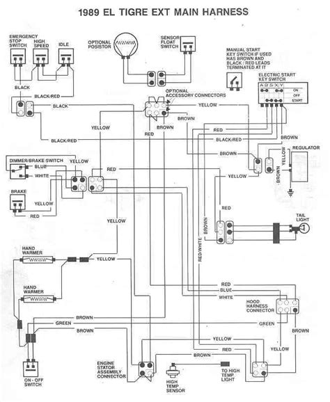 2008 polaris sportsman wiring diagram free