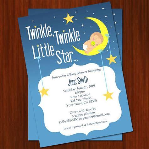 Paket Baby Shower 1 twinkle twinkle baby shower invitation printable diy 20 00 via etsy