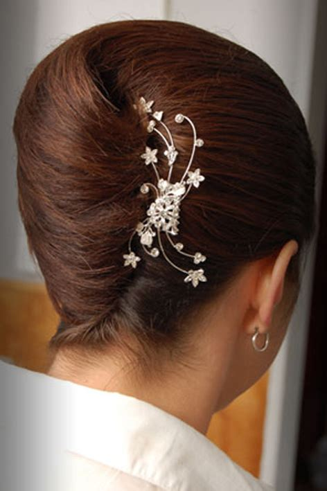bridal hairstyles french roll wedding hair roll hairstyles
