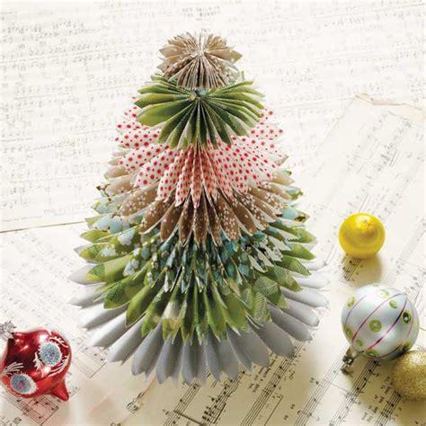 tutorial d oregami christman diy origami tree mollie makes