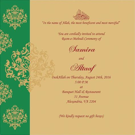 Wedding Ceremony Invitation Card by 7 Best Mehndi Ceremony Wordings Images On