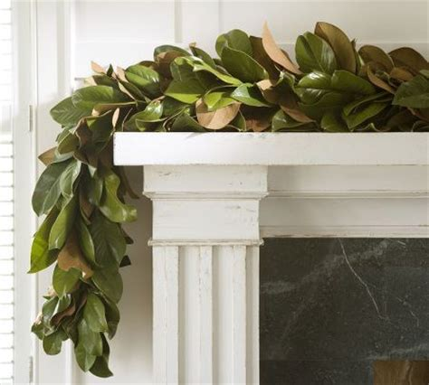 decorating with magnolia leaves magnolias garlands and leaves on
