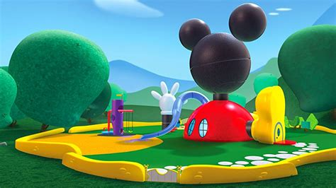 mickey mouse clubhouse house plan 2017