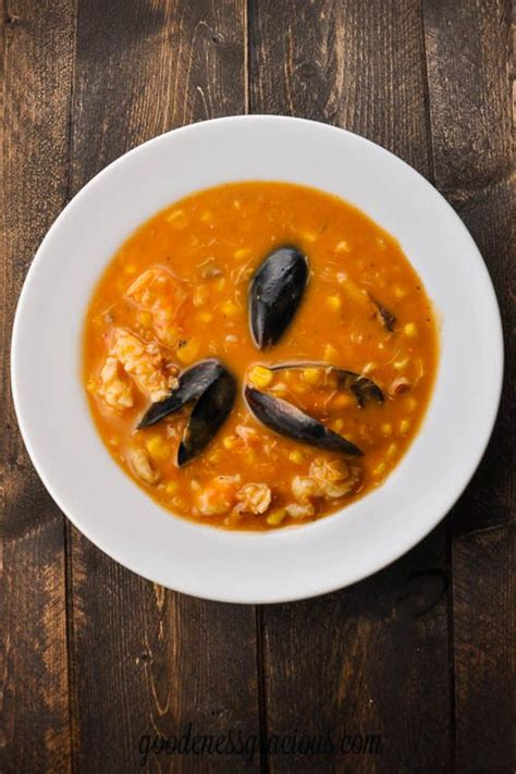 easy seafood bisque goodeness gracious