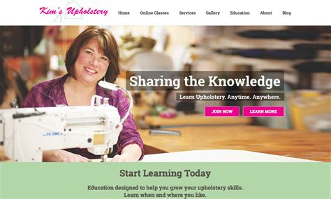 online upholstery class upholstery classes membership site gets a makeover kim s