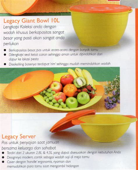 Legacy Server 2 8 Tupperware tupperware activity legacy server set pusat belanja