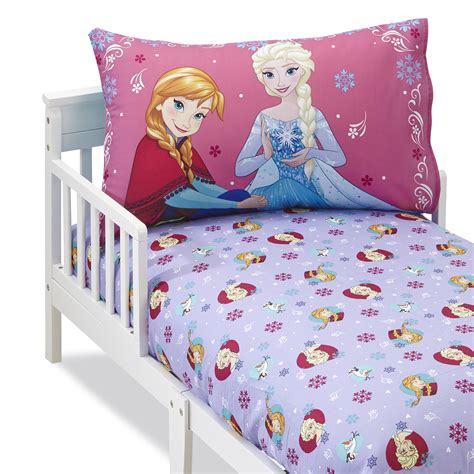 Frozen Crib Bedding Disney Frozen S Fitted Sheet Pillowcase Baby Baby Bedding Sheets