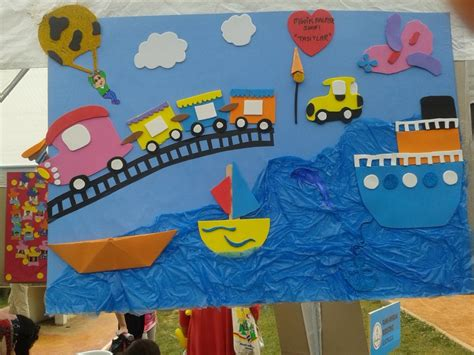 a to z of transportation themed crafts and transportation craft idea for crafts and worksheets for preschool toddler and kindergarten