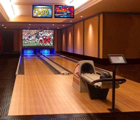 suggestions  home installed bowling alley lanes