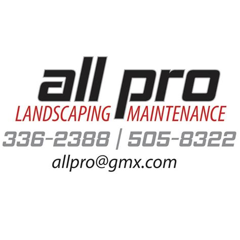 all pro landscaping maintenance home