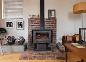 fireplace to wood stove conversion small garage converted to tiny mini house idesignarch