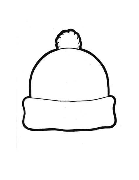 plain hat coloring page bonnet slouchy 2 le petit monde de cat