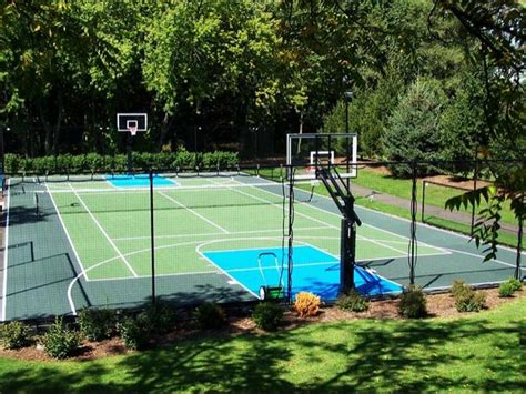 Backyard Court Surfaces by Maryland Flexcourt Gallery