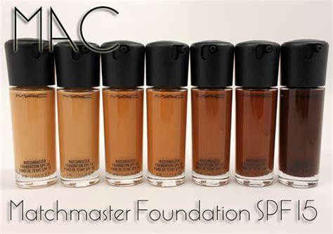 Foundation Mac Matchmaster mac matchmaster foundation spf 15 for fall 2011 swatches