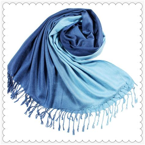 Ima Scarf Pashmina Ima 9 fashion tassels wool scarf stole winter gradient color shawl wrap ebay