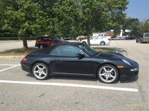 porsche 911 convertible 2005 find used 2005 porsche 911 convertible 2 door 3 6l
