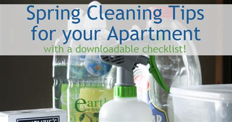 Tips On Apartment Renting Cleaning Tips For Your Apartment Rental Living