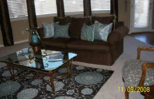 Blue And Brown Living Room Designs Information About Rate My Space Questions For Hgtv Com