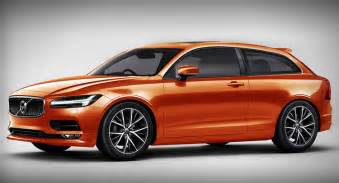 C30 Volvo New Volvo C30 Rendered With S90 Front End