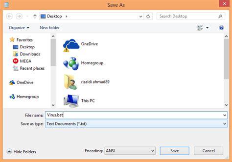 10 cara membuat virus komputer menggunakan text editor masukkan deskripsi gambar disini
