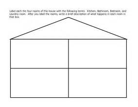 template of house house outline printable pictures to pin on
